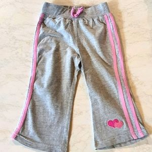 Size 1 H+T grey track pants